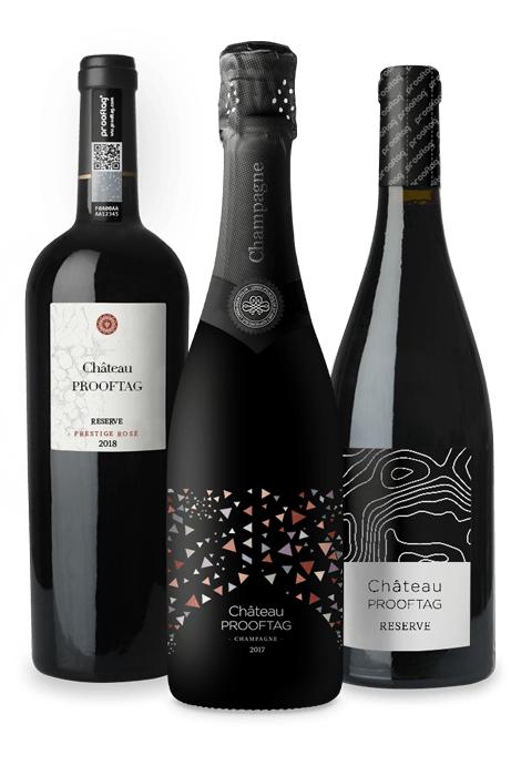 Authentifizierung von Weinflaschen zur Bekämpfung von Fälschungen und Parallelmärkten