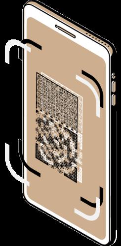 Illustration of DataCrypt security technology