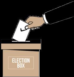 Ballot box - secure electoral process