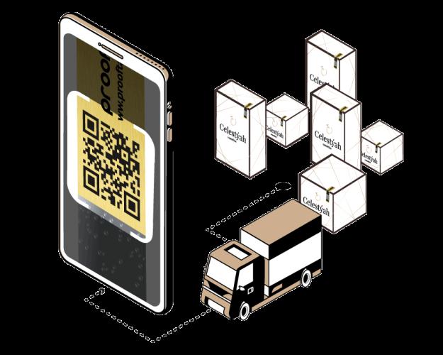 Authentifier les produits cosmétiques authentiques avec un smartphone