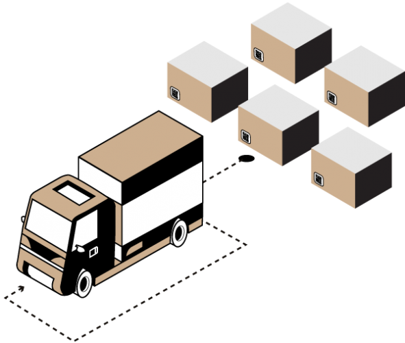 smart packaging ou emballage intelligent pour la gestion du reseau commercial de distribution