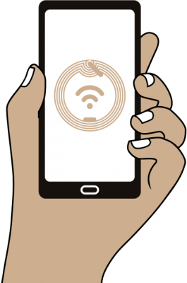 Illustration technologie de traçabilité NFC